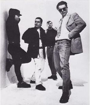 Madness (band) - A promotional photograph of The Madness, (L-R): Thompson, Foreman, Smash, and Suggs
