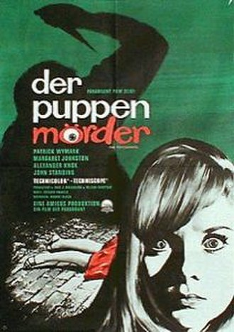 The Psychopath - German poster