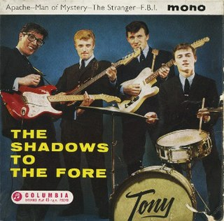 <i>The Shadows to the Fore</i> 1961 EP by The Shadows