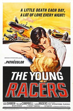 The Young Racers - Film poster