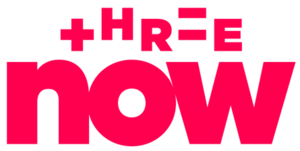 Three (New Zealand) - ThreeNow logo