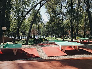 Grand Park of Tirana - Children's playground