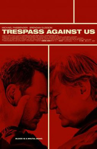 Trespass Against Us - Theatrical release poster