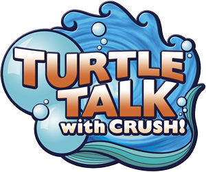 Turtle Talk with Crush - Image: Turtle Talk with Crush logo