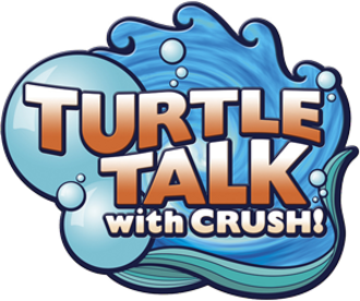 Turtle Talk with Crush - Image: Turtle Talk with Crush logo
