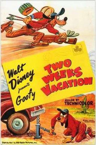 Two Weeks Vacation - Theatrical release poster