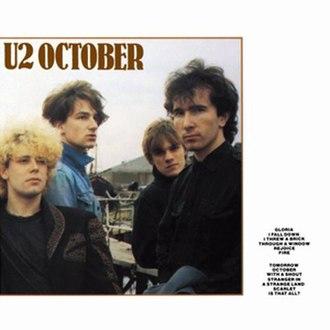 October (U2 album) - Image: U2 October
