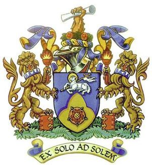 University of Central Lancashire - Image: UC Lan Coat of Arms