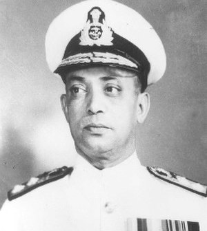 Chief of the Naval Staff (India) - Image: Vice Admiral Ram Dass Katari