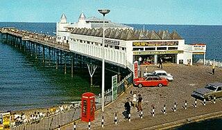 Victoria Pier pier in Colwyn Bay, north Wales