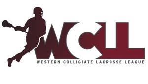 Western Collegiate Lacrosse League - Image: WCL Llogo