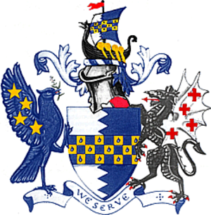 London Borough of Wandsworth - Image: Wandsworth LB arms