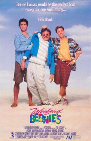 Weekend at Bernie's - Theatrical release poster