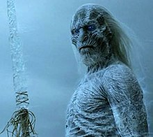 A White Walker With An Ice Sword From Of Thrones