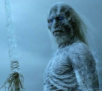 White Walker - A White Walker with an ice spear, from Game of Thrones