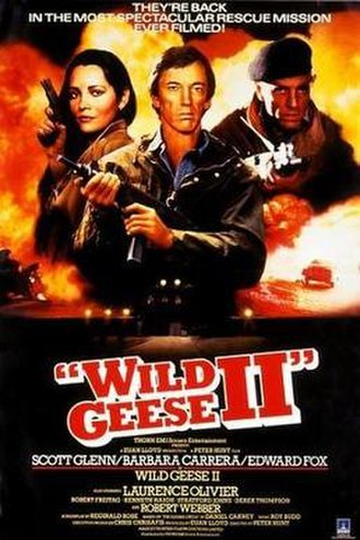 Wild Geese II - Theatrical release poster