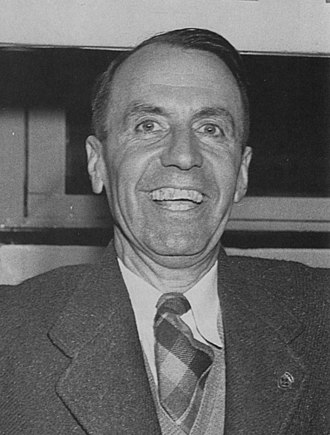 William Horace Temple - Temple at his campaign victory party in 1948