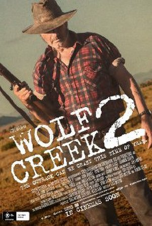 Wolf Creek 2 - Theatrical release poster