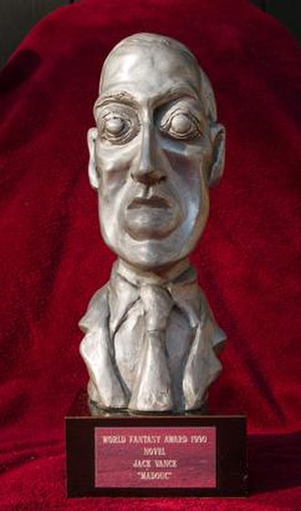 World Fantasy Award - Bust of H. P. Lovecraft used as award trophy from inception through 2015