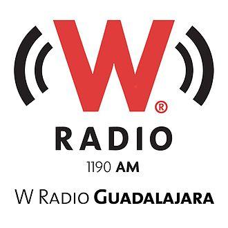 XEWK-AM - Image: XEWK W Radio 1190 logo