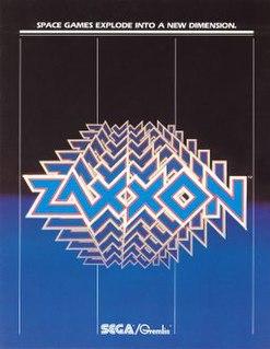 <i>Zaxxon</i> Isometric shooter arcade game from 1982
