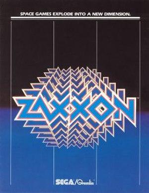 Zaxxon - Image: Zaxxon flyer