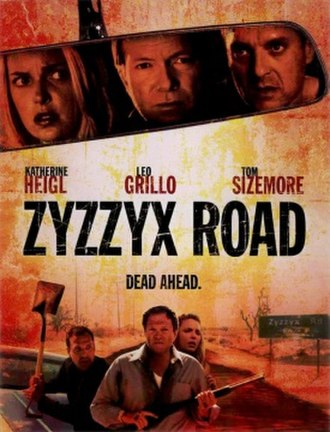 Zyzzyx Road - Theatrical release poster