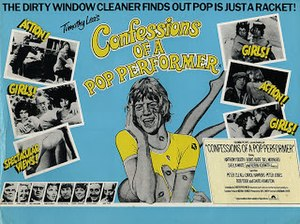 Confessions of a Pop Performer - Theatrical release poster
