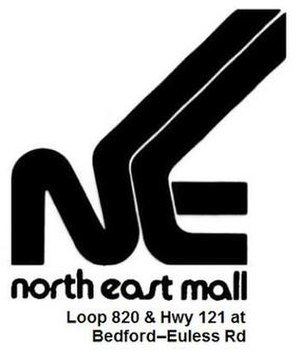 North East Mall - The NEM logo used from 1976–94
