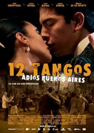 12 Tangos - Image: 12Tangos 2005Poster