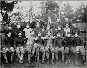 1896 Illinois Fighting Illini football team - Image: 1896 Illinois Fighting Illini football team