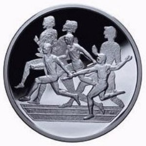 Dolichos (race) - Relays commemorative coin