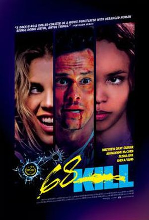 68 Kill - Theatrical release poster