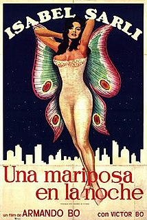 <i>A Butterfly in the Night</i> 1977 film by Armando Bó