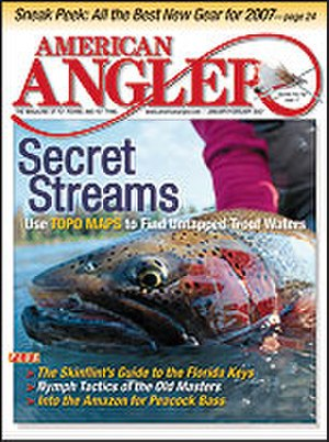 American Angler - American Angler magazine's January/February 2007 cover.