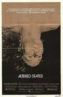 <i>Altered States</i> 1980 science-fiction horror film by Ken Russell