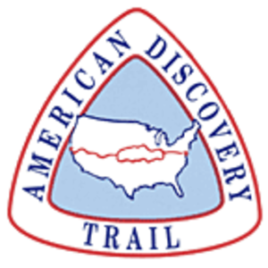 American Discovery Trail - Image: American Discovery Trail Logo