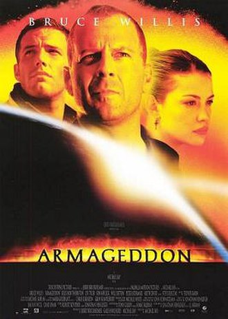 Armageddon (1998 film) - Theatrical release poster