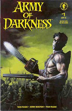 Army of Darkness (comics) - Image: Army of Darkness Dark Horse