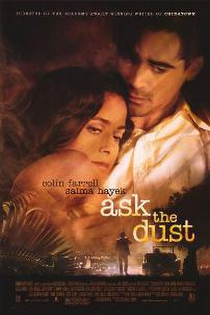 Ask the Dust (film) - The movie poster for Ask the Dust.