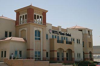 Birla Institute of Technology and Science, Pilani – Dubai Campus - Former academic block