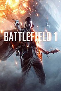 <i>Battlefield 1</i> 2016 first-person shooter video game