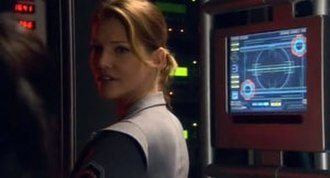 Number Six (Battlestar Galactica) - Gina, as she appears in Razor