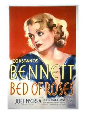 Bed of Roses (1933 film) - original film poster