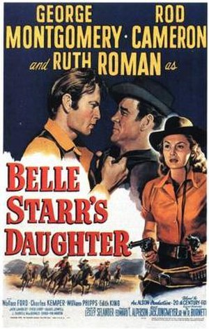 Belle Starr's Daughter - Theatrical release poster