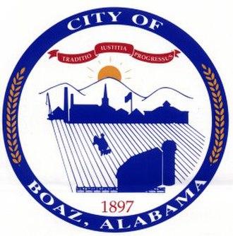 Boaz, Alabama - Image: Boaz Seal 11