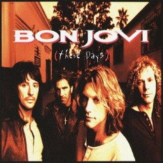 These Days (Bon Jovi album) - Image: Bon Jovi These Days (1995) Front Cover