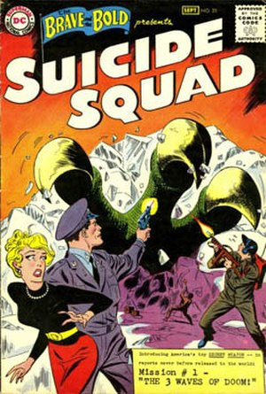 Suicide Squad - Image: Brave and the Bold v 1 25