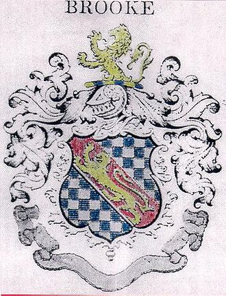 Thomas Brooke Jr. - Image: Brooke Coat of Arms 2