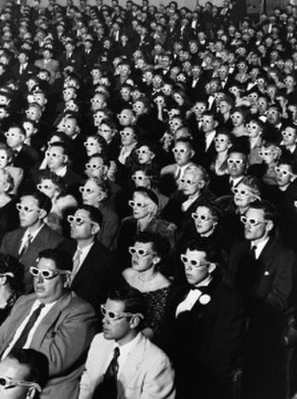 Bwana Devil - The audience at the premiere of Bwana Devil, photographed by J. R. Eyerman for Life magazine